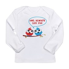 Owl always luv you Long Sleeve T-Shirt