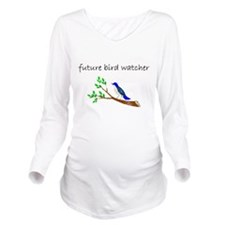 future bird watcher Long Sleeve Maternity T-Shirt