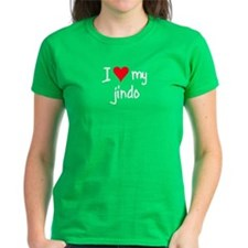 I LOVE MY Jindo Tee