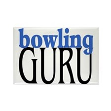 Bowling Guru Rectangle Magnet