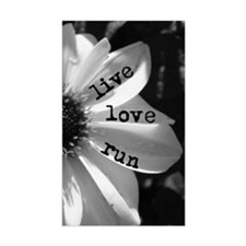 Live Love Run by Vetro Jewelry Stickers