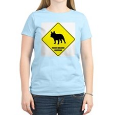 Bulldog Crossing Women's Pink T-Shirt