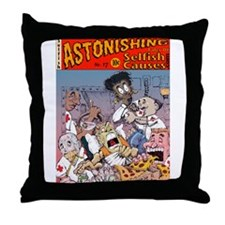 Astonishing Tales Throw Pillow
