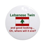 Lebanese Twin-Good Looking Ornament