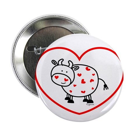 "lil love cow 2.25"" Button (100 pack)"