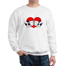 Love Cows (red) Sweatshirt