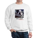 "SAD-DOG Sweatshirt with""YOUR OWN"" website address"