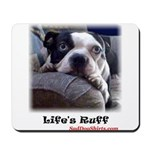 Sad-dog (LIFES RUFF) Mousepad