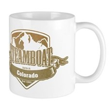 Steamboat Colorado Ski Resort 4 Mugs