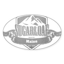 Sugarloaf Maine Ski Resort 5 Decal