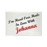 In Love with Johanna Rectangle Magnet (10 pack)