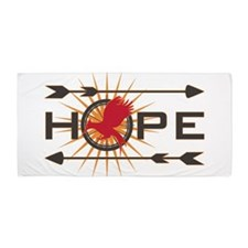 Catching Fire Hope Beach Towel