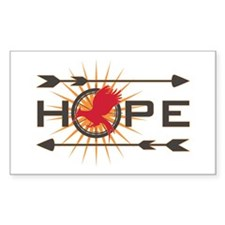 Catching Fire Hope Decal