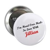 "In Love with Jillian 2.25"" Button (10 pack)"