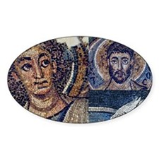 Byzantine mosaic collage Decal