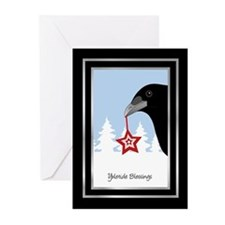 Yuletide Crow Greeting Cards (Pk of 20)
