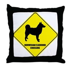 Norwegian Crossing Throw Pillow