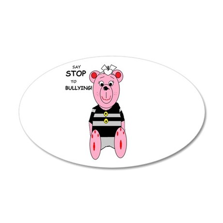 Say Stop to Bullying Wall Decal