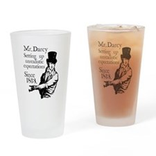 Unique Pride and prejudice Drinking Glass
