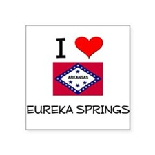 I Love EUREKA SPRINGS Arkansas Sticker