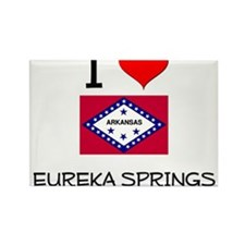 I Love EUREKA SPRINGS Arkansas Magnets