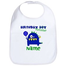 Birthday Boy Monster Bib