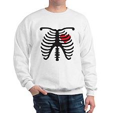 Heart and Bones Sweatshirt