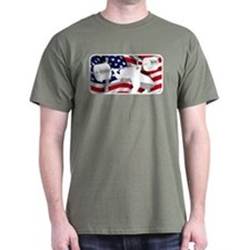 PATRIOTIC BENCH PRESS T-Shirt