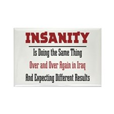 Insanity Rectangle Magnet (10 pack)
