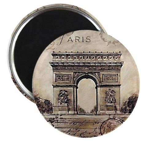 """We'll always have Paris"" Magnet"