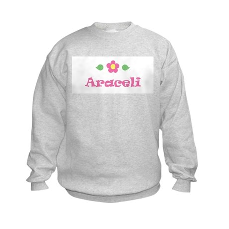 Pink Daisy - &amp;quot;Araceli&amp;quot; Kids Sweatshirt