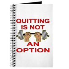 Quitting Not An Option Journal