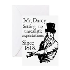 Mr. Darcy Greeting Cards