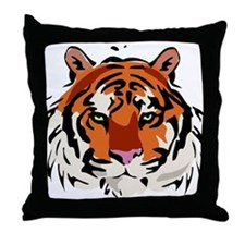Tiger (Face) Throw Pillow