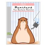 Hamstard Small Poster
