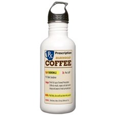 Prescription Coffee Water Bottle