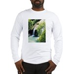 Turner Falls Park Waterfall Long Sleeve T-Shirt