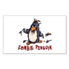 Zombie Penguin Decal