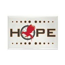 Catching Fire Hope Rectangle Magnet (10 pack)
