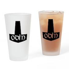 Odin Hammer Drinking Glass