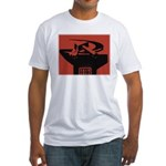 Stylish Hammer & Sickle Fitted T-Shirt