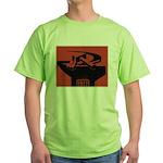 Stylish Hammer & Sickle Green T-Shirt