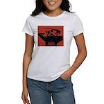 Stylish Hammer & Sickle Women's T-Shirt