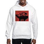 Stylish Hammer & Sickle Hooded Sweatshirt