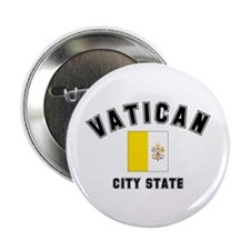 Vatican City Flag Button