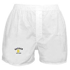 Vatican City Flag Boxer Shorts