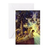 Waterfall Blank Greeting Cards (Pk of 10)