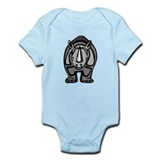 Cartoon Rhinoceros Body Suit