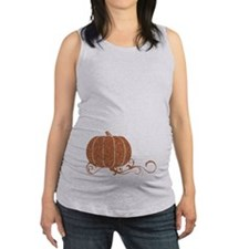 Halloween Pumpkin 2 Maternity Tank Top