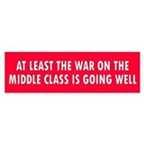 middle class... Bumper Car Sticker